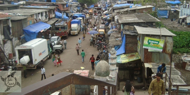 The_urban_slums_Dharavi